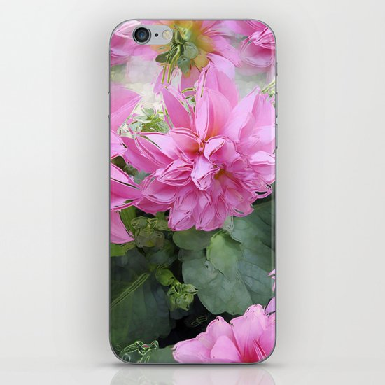 Delicious Dahlia's iPhone & iPod Skin