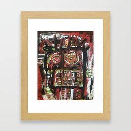 La Fe de Clarita Framed Art Print