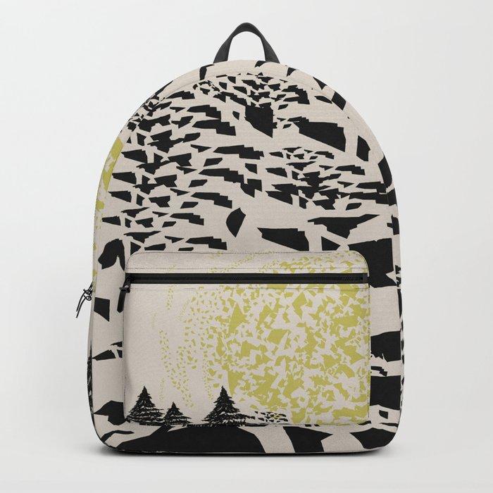 Trippy hills Backpack