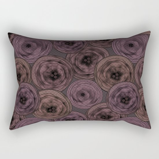 Chocolate velvet . Rectangular Pillow