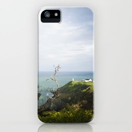 Irish cliffs iPhone Case