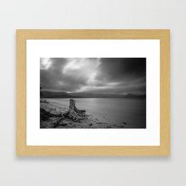 Kailua Bay  Framed Art Print