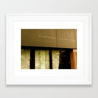 contemporary Framed Art Prints featuring Contemporary by Casey J. Newman