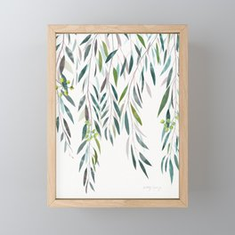 Eucalyptus Drop  Framed Mini Art Print