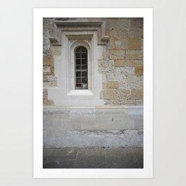 Oxford door 11 Art Print