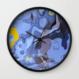 Abstract Composition 548 Wall Clock