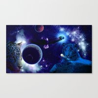 guardians of the galaxy Canvas Prints featuring Guardians of the Galaxy by Dream Realm Photography and Art