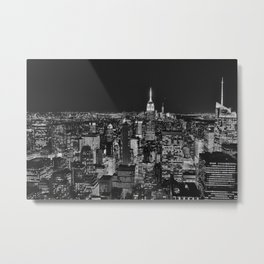 NYC from Top of the Rock Metal Print