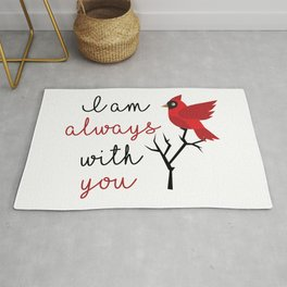 I am always with you Rug