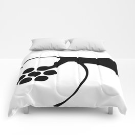 Abstract Plughole Comforters