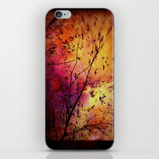 The storm (later that very evening) iPhone & iPod Skin