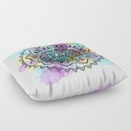 Colourwash Mandala Floor Pillow