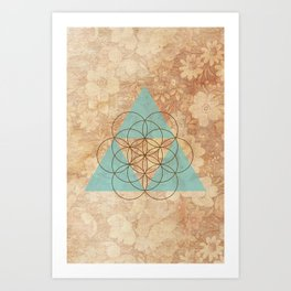 Geometrical 007 Art Print