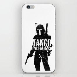 Jango Unchained iPhone Skin