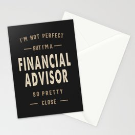 Perfect Financial Advisor Stationery Cards