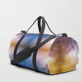 A mirrored  night sky photo Duffle Bag