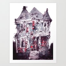 Detroit Heidelberg Project 2 Art Print