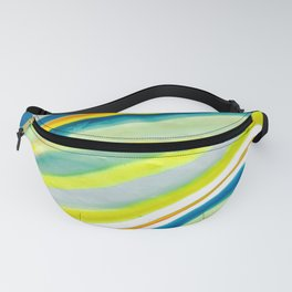 Earth Lines Marbling, Unite Fanny Pack