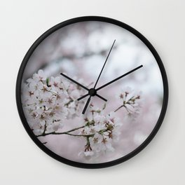 Flower Photography by Ray ZHUANG Wall Clock