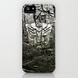 Autobot steel iPhone Case