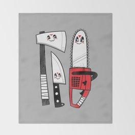 Happy Slasher Pals Throw Blanket