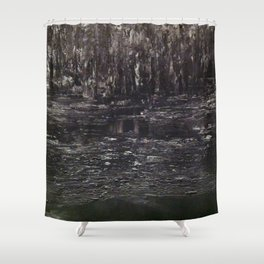 Enchanted (Brown) Shower Curtain