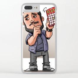 Impractical Joker Sal Clear iPhone Case
