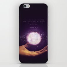 Isaiah 48:13 iPhone & iPod Skin