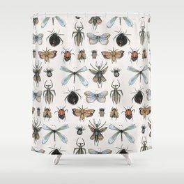 Entomology Shower Curtain