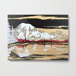 Rainier Metal Print