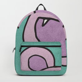 Slightly Amused Monsters, V Pink Backpack
