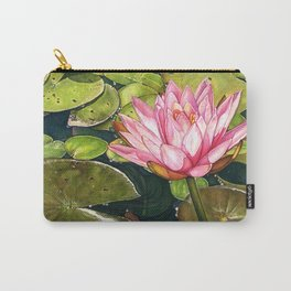 Water Lily at the Biltmore Gardens Carry-All Pouch