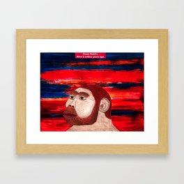 Homo Habilis (1B) Framed Art Print
