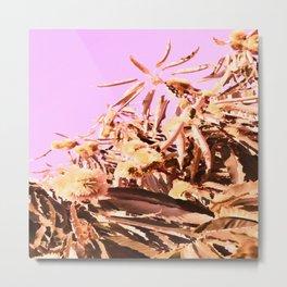 Chestnut Tree Impressions Metal Print