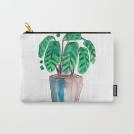 Peacock Plant Carry-All Pouch