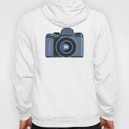 Blue Camera Graphic Hoody