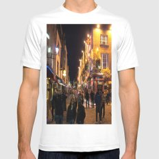 Temple Bar Mens Fitted Tee White MEDIUM