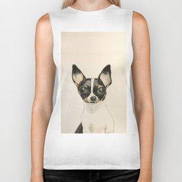 Chihuahua - the tiny dog Biker Tank