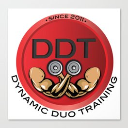DDT Men's Tees Canvas Print