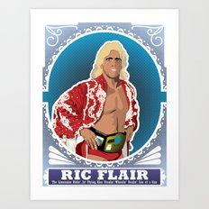 Ric Flair WOOOOO! Art Print
