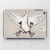 rap iPad Cases featuring Rap Won't Save You by Davies Babies