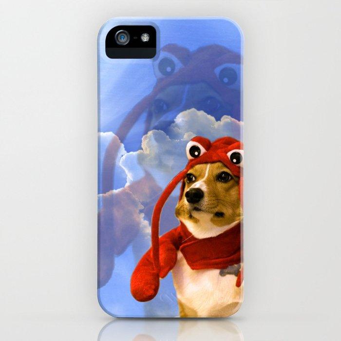 lobster corgi iphone case