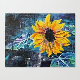 Sunshine Daisy Butter Mellow Canvas Print