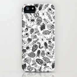Pattern Black iPhone Case