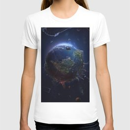 A look to the earth T-shirt