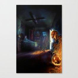 Corban's Nightmares Canvas Print