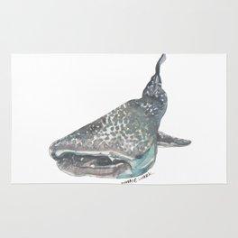 Watercoloured Whaleshark  Rug
