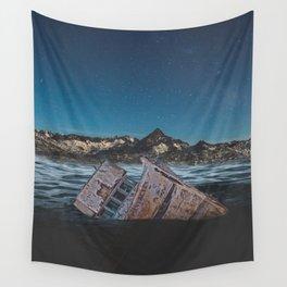 Sunken Ship Wall Tapestry