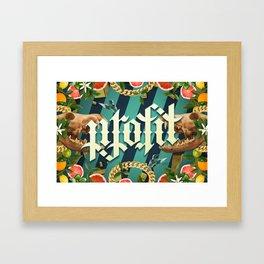 Life N Death I Framed Art Print