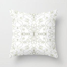 Simpe but beautiful symmetric tile  Throw Pillow
